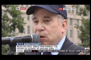 Paul Simon at Ground Zero, September 11, 2011