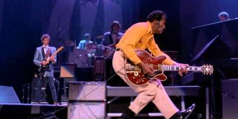 Chuck Berry Honored by Rock and Roll Hall of Fame, Case Western