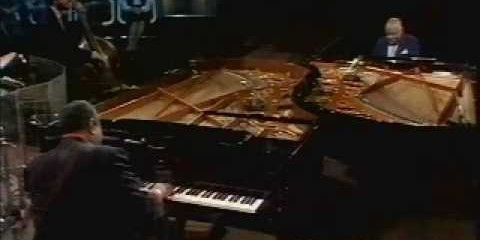 Oscar Peterson: Slow Blues (with Count Basie) and C Jam Blues