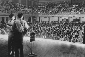 Roy_Acuff, a giant of country music, at Ryman auditorium
