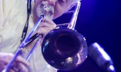 Trombonist Roswell Rudd [Photo: Volume12.net]