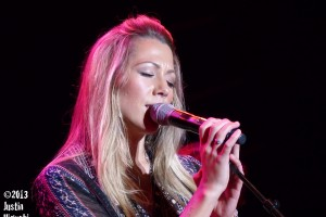 Colbie Caillat at the Pacific Amphitheatre at the O.C. Fair