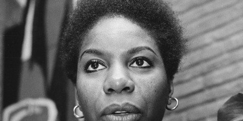 """Nina Simone 1965"" by Kroon, Ron / Anefo - [1] Dutch National Archives, The Hague, Fotocollectie Algemeen Nederlands Persbureau (ANEFO), 1945-1989, Nummer toegang 2.24.01.03 Bestanddeelnummer 918-5601. Licensed under Creative Commons Attribution-Share Alike 3.0 via Wikimedia Commons - http://commons.wikimedia.org/wiki/File:Nina_Simone_1965.jpg#mediaviewer/File:Nina_Simone_1965.jpg"