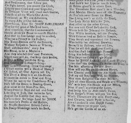Broadside_ballad_entitled_'A_Huy_and_Cry_After_Sir_John_Barlycorn'