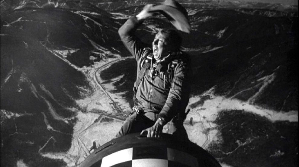 slim_pickens, Dr. Strangelove, Or: How I Learned to Stop Worrying and Love the Bomb.""
